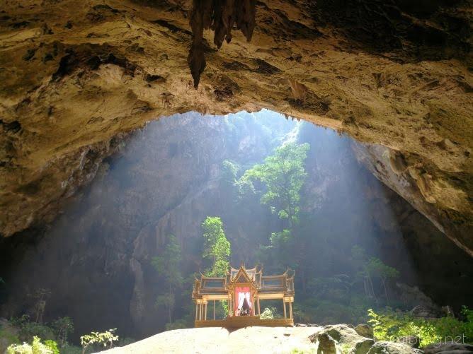 ホアヒンの洞窟