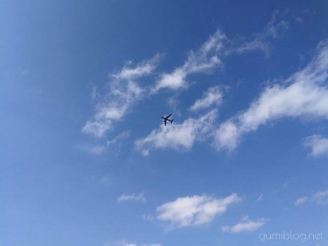 沖縄の飛行機画像