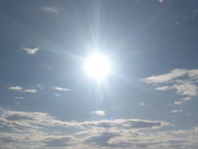 沖縄の太陽画像