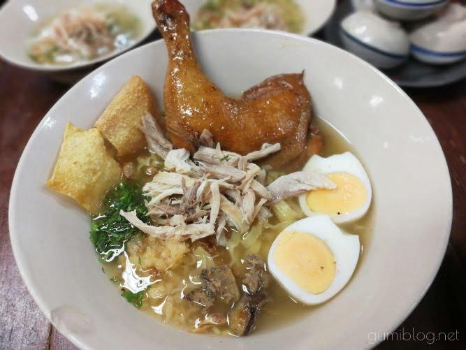 無化調!あっさりおいしい麺【Chicken Noodle Khaokrung】@サイアム