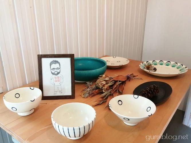 人気のやちむん店「宮城陶器」の作品