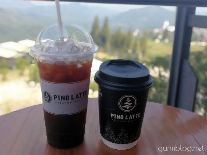 ピノラテカフェのコーヒー
