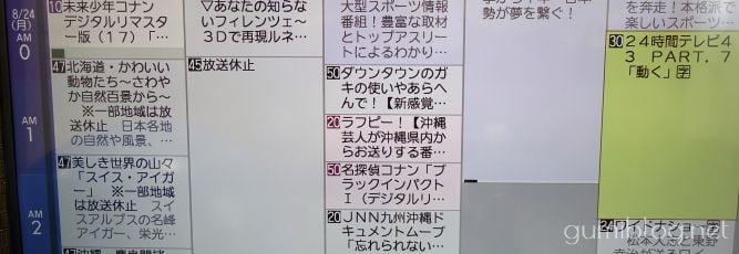 沖縄で24時間テレビは放送されるの?
