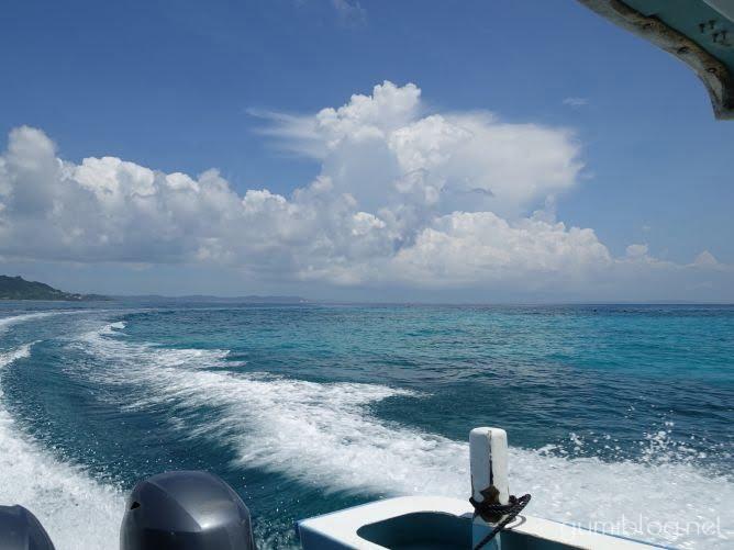 コマカ島の海