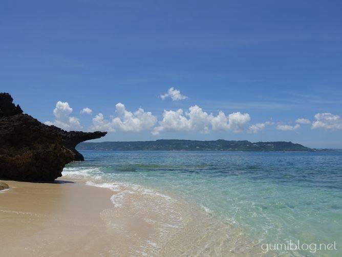コマカ島のビーチをお散歩