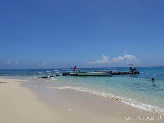 コマカ島のボート乗り場