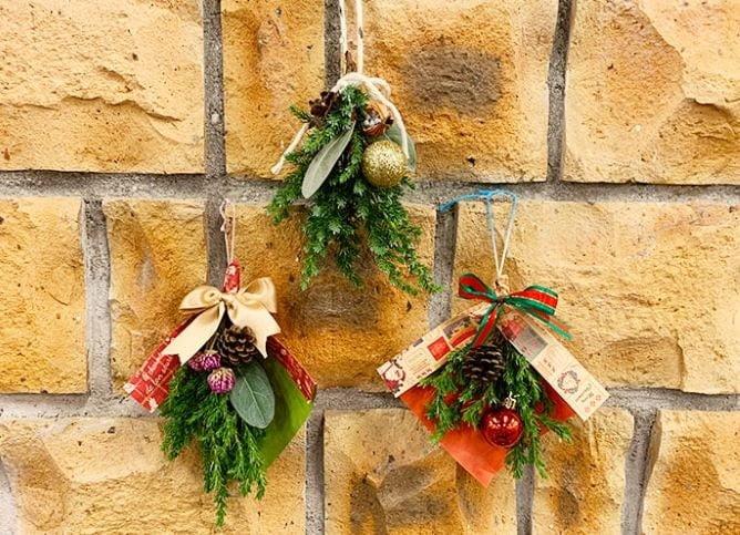 熱帯ドリームセンター「クリスマス・スワッグ作り」