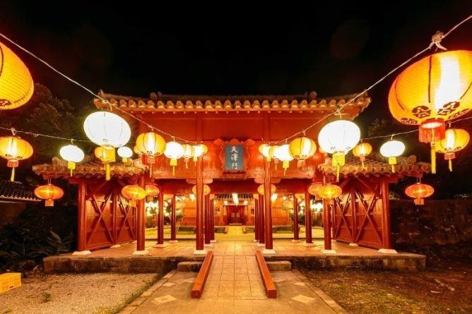 体験王国むら咲むら「よみたん夜あかり・琉球ランタンフェスティバル2020-2021」