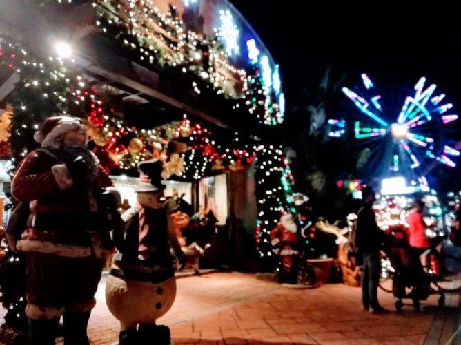 美浜アメリカンビレッジ「2020クリスマスイルミネーション」