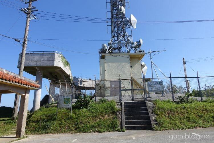 乙羽岳森林公園展望台の駐車場