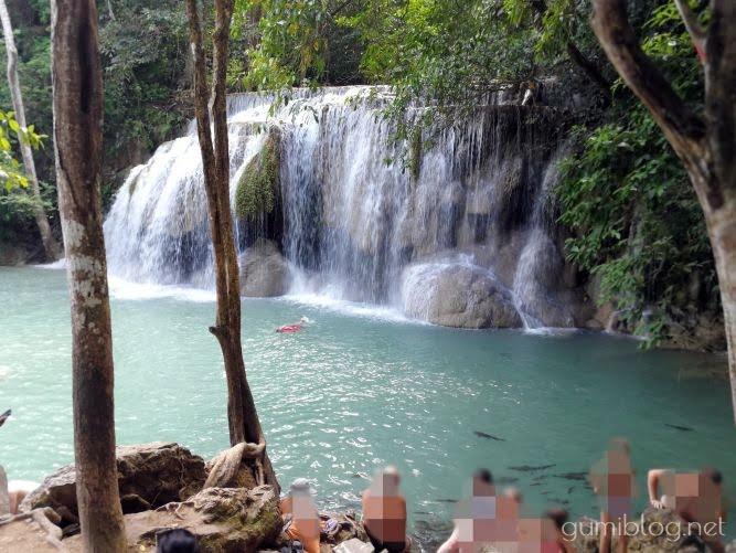 2番目のエラワン滝