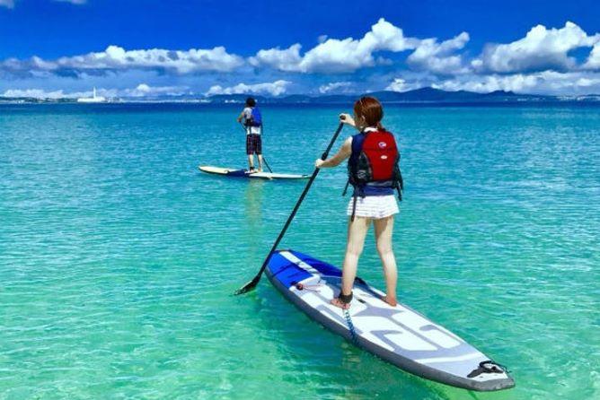 沖縄アクティビティランキング4位:SUP(サップ)スタンドアップパドルボード