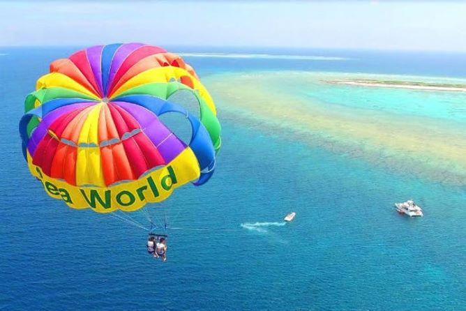 沖縄の人気アクティビティそのほか:パラセーリング・グラスボート・海釣り・シーサー作り体験など