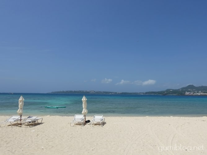 沖縄県本部町の「瀬底島のアンチ浜」で個人シュノーケリング
