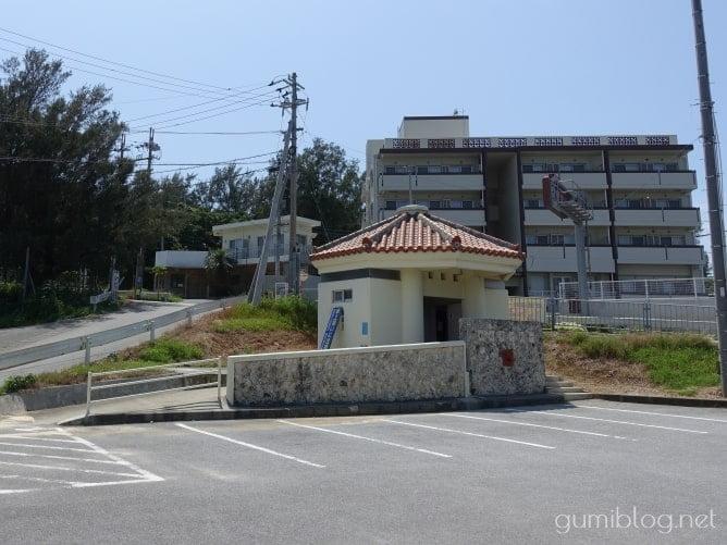 本部町瀬底島公園の駐車場