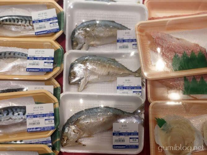 タイでよく食べる首折れ魚「プラートゥー(ปลาทู)」