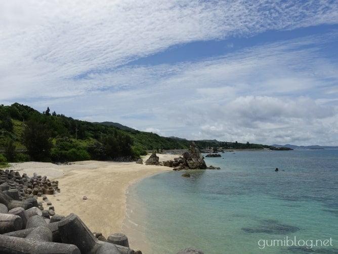 ゴリラチョップのビーチ