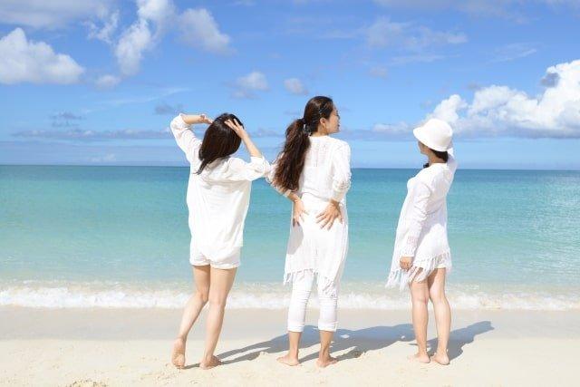 沖縄の8月の「服装」について