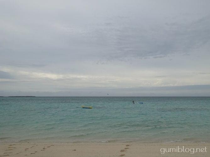 与論島の「ウドノスビーチ」は流れに注意!海況を見て遊ぼう