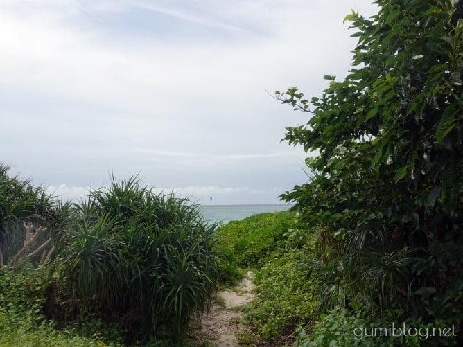 与論島の「ウドノスビーチ」で気軽に個人シュノーケリング