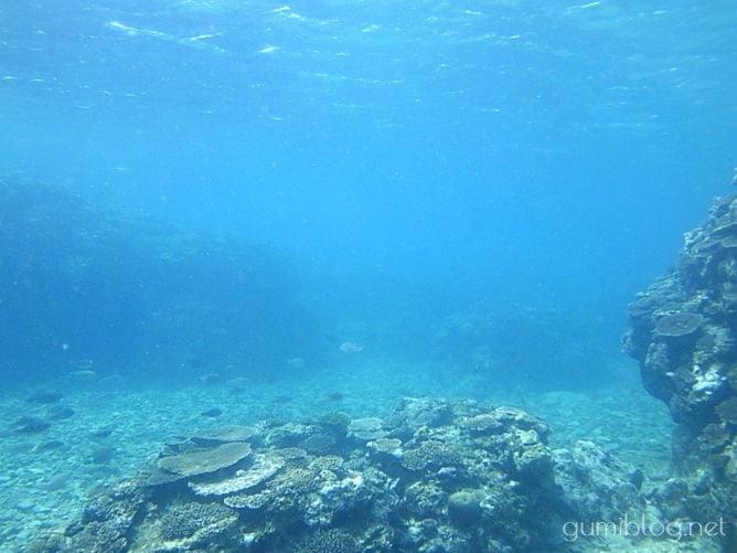 トケイ浜の海