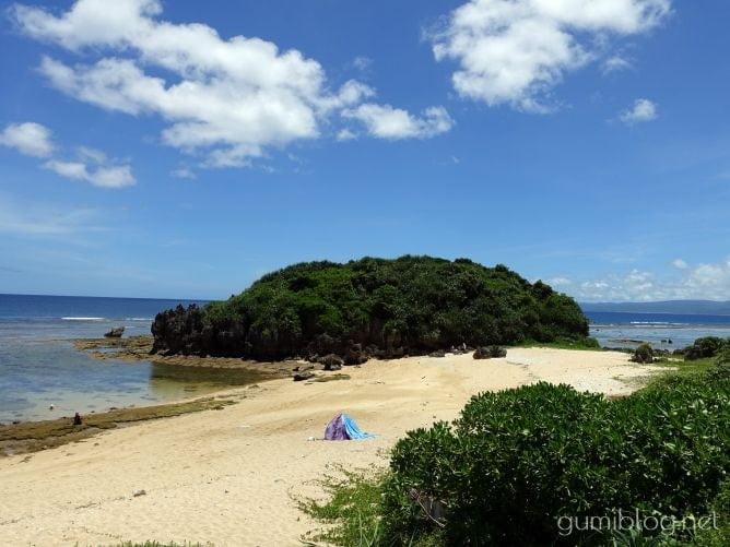 古宇利島のトケイ浜で個人シュノーケリング