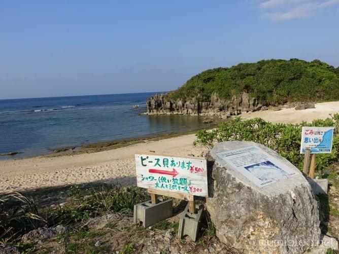 トケイ浜(ピース浜)のピース貝